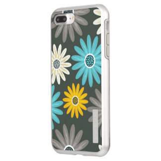 Floral iPhone 7 Plus DualPro Shine, Silver Incipio DualPro Shine iPhone 8 Plus/7 Plus Case
