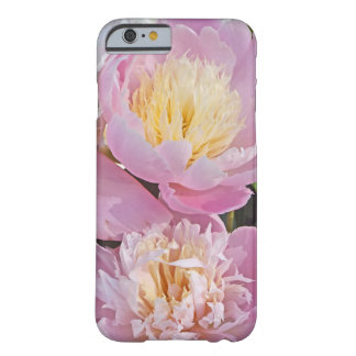 FLORAL iPHONE CASE/BABY-PINK PEONIES,MOONLIGHT YE Barely There iPhone 6 Case