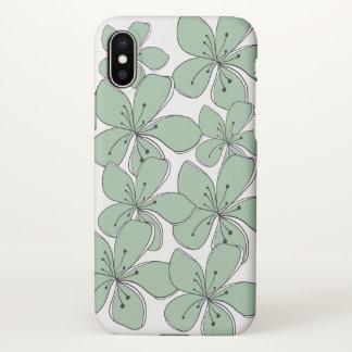 Floral  iPhone X Matte Case