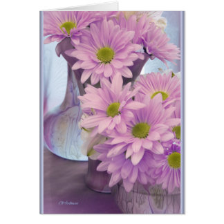 Floral iridescence card