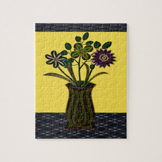Floral Jigsaw Puzzle