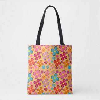 Floral joy in June Tote Bag