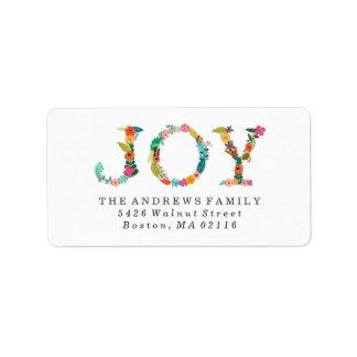 Floral Joy   Modern Holiday