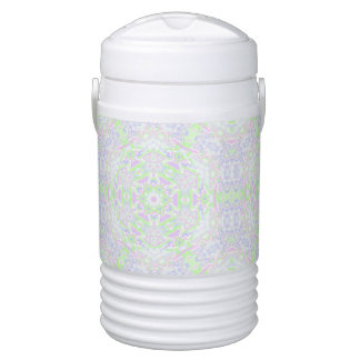 Floral Kaleidoscope 2 Drinks Cooler