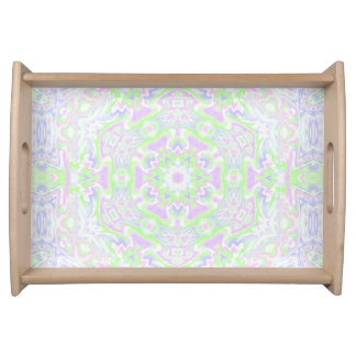 Floral Kaleidoscope 2 Serving Tray