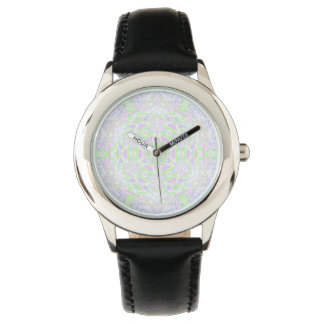 Floral Kaleidoscope 2 Wrist Watch