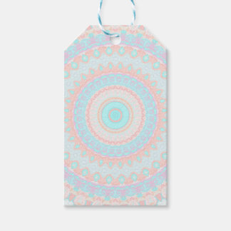 Floral Kaleidoscope 3 Gift Tags