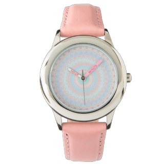 Floral Kaleidoscope 3 Wristwatches