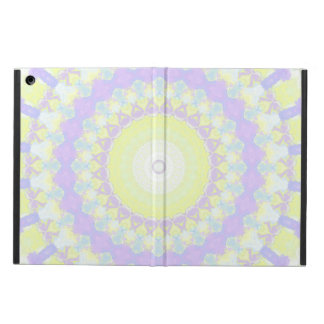Floral Kaleidoscope iPad Air Cover