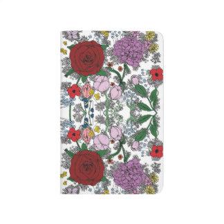 Floral Kaleidoscope Notebook Journals