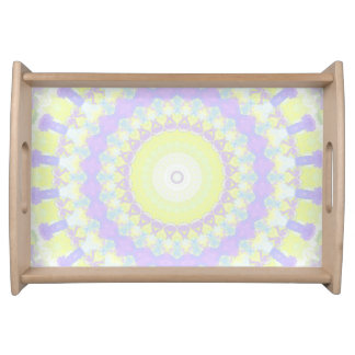 Floral Kaleidoscope Serving Tray
