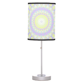 Floral Kaleidoscope Table Lamps