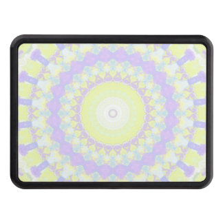 Floral Kaleidoscope Trailer Hitch Cover