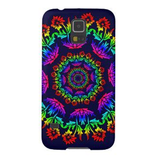 Floral Kaliedoscope Samsung Galaxy case