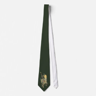Floral Knight  Decorated Horse Dandelion Flower Tie