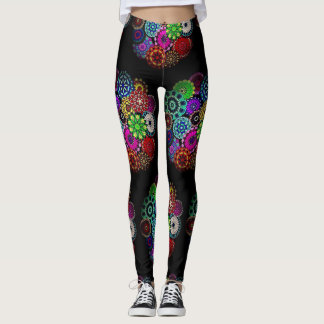 Floral Knight Leggings