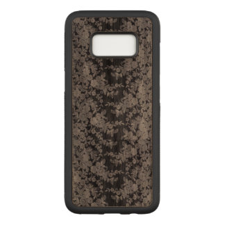 Floral Lace Samsung Galaxy S8 Carved Wood Case