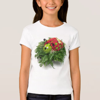 Floral Ladybug T-shirt