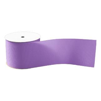 Floral Lavender Wide Grosgrain Ribbon
