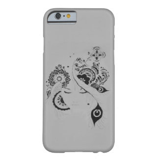Floral layer iPhone 6 doodle Barely There iPhone 6 Case