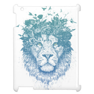 Floral lion cover for the iPad 2 3 4