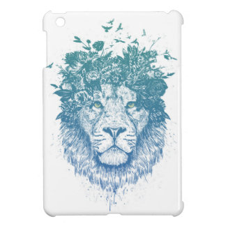 Floral lion cover for the iPad mini