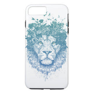Floral lion iPhone 8 plus/7 plus case