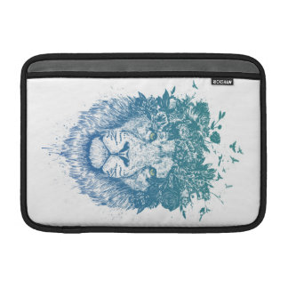 Floral lion sleeve for MacBook air