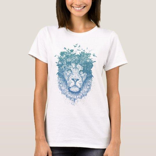 Floral lion T-Shirt