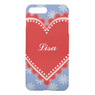 Floral Love Heart iPhone 8 Plus/7 Plus Case