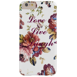 Floral Love Live Laugh iPhone Case Barely There iPhone 6 Plus Case