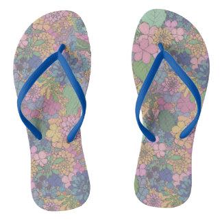 Floral Love Slippers Flip Flops