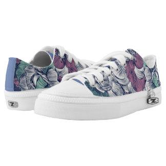 Floral Low Top Shoes