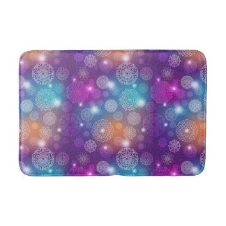 Floral luxury mandala pattern bath mat