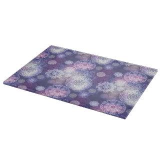 Floral luxury mandala pattern boards