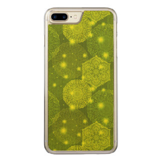 Floral luxury mandala pattern carved iPhone 8 plus/7 plus case