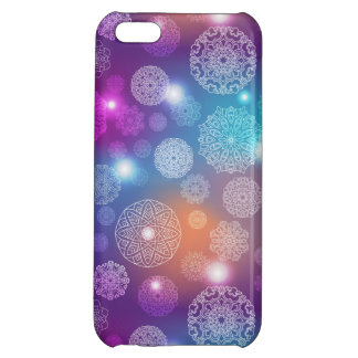 Floral luxury mandala pattern case for iPhone 5C