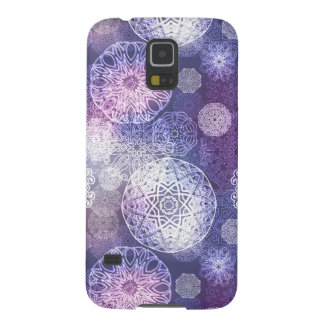 Floral luxury mandala pattern galaxy s5 case