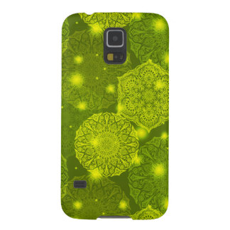 Floral luxury mandala pattern galaxy s5 cover