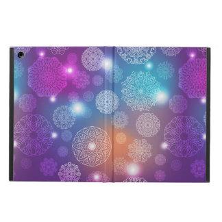 Floral luxury mandala pattern iPad air case
