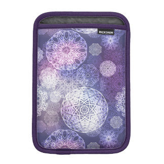 Floral luxury mandala pattern iPad mini sleeve