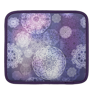 Floral luxury mandala pattern iPad sleeve