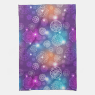 Floral luxury mandala pattern kitchen towel
