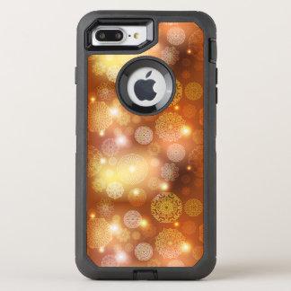 Floral luxury mandala pattern OtterBox defender iPhone 8 plus/7 plus case
