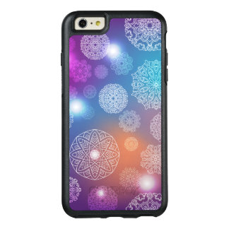 Floral luxury mandala pattern OtterBox iPhone 6/6s plus case