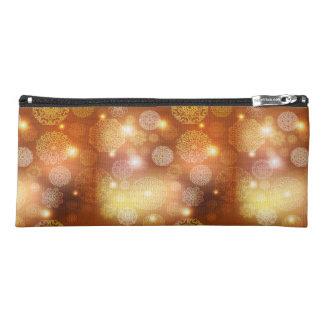 Floral luxury mandala pattern pencil case