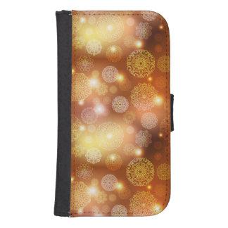 Floral luxury mandala pattern samsung s4 wallet case