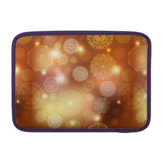 Floral luxury mandala pattern sleeve for MacBook air