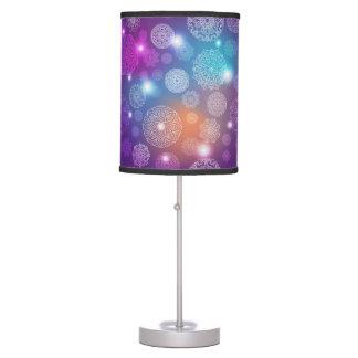 Floral luxury mandala pattern table lamp