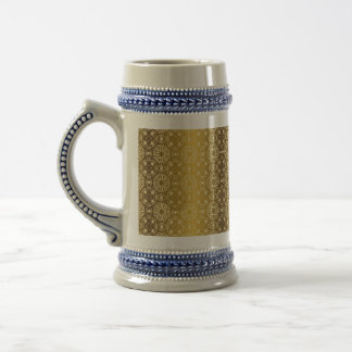 Floral luxury royal antique pattern beer stein